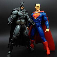 Batman vs Superman Action Figure //Price: $29.74 & FREE Shipping //     #BatmanFanShop
