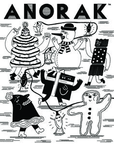 Anorak magazine by Lauren Humphrey