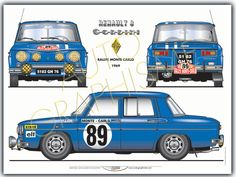 Renault R8 Gordini Renault Sport, Audi Sport, Sport Cars, Race Cars, Foto Cars, Models Men, Cabriolet, Car Illustration, Car Posters