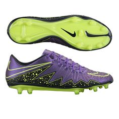 e0da2f5c0 Nike Hypervenom Phinish FG Soccer Cleats (Hyper Grape Black Volt)