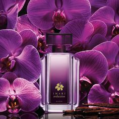 Imari Seduction Eau de Toilette Spray is a hypnotic scent of luscious plum and orchid w/hints of  vanilla, amber and musk. #perfume #avon