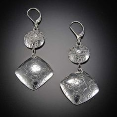 Earrings by Silver Stone Jewelry. American Made. See the designer's work at the 2015 American Made Show, Washington DC. January 16-19, 2015. americanmadeshow.com #earrings, #jewelry, #americanmade