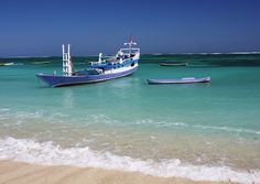 Crystal clear blue waters in front of the Nemberala Beach Resort, Indonesia.  #Beaches