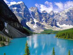 Paisagem deslumbrante de Alberta, Canadá - Peyto Lake