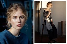 Philippine Urvois Stars in This Moody Story for The Ones 2 Watch #fashion trendhunter.com