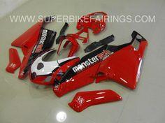 2005-2006 Ducati 749/999 Red Monster Mob Fairings
