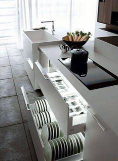 Resultado de imagem para cozinhas pequenas modernas