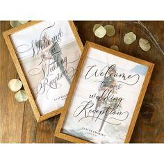 【ウェルカムボード】トレーシングペーパー(A3)/31design Wedding Welcome Board, Welcome Boards, Place Cards, Place Card Holders