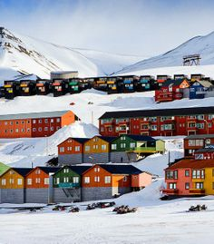 Svalbard is the northernmost inhabited place in the world. It is even farther than Alaska and Arctic Islands of Canada. The place is considered to be highly populated despite the climate. If not for the Gulf Stream and little warm temperature that it receives, Svalbard would be totally locked in ice and would not be habitable anymore. The overall population is about 3,000 and most of them are gathered on the cities of Longyearbyen and Barentsburg.
