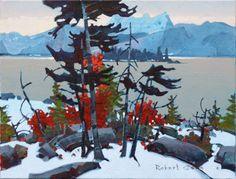 Jasper Lakes Counterpoint by Robert Genn