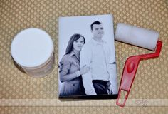 10 Totally Doable Valentine's Day DIYs They'll Never See Coming | A photo block with a picture of the two of you.