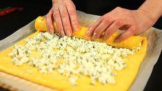 Előétel omlett tekercs tehéntúróval - hogyan ellenőrizze a tojás frisses... Grains, Food, Essen, Meals, Seeds, Yemek, Eten, Korn