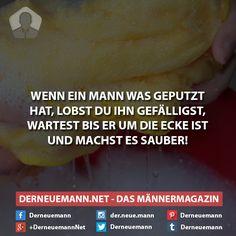 Lob ihn #derneuemann #humor #lustig #spaß #sprüche #mann