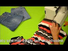 Kurz šitia - Šijeme elastické tkaniny