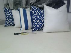 Delicious pillows by Magdalene of Pillows et Plus