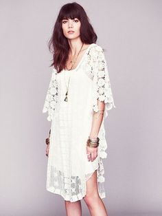 Nicole s White Story Limited Edition Dress Free People