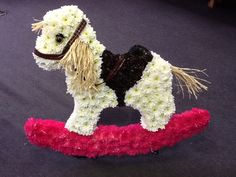 Rocking Horse using bespoke Val Spicer frame