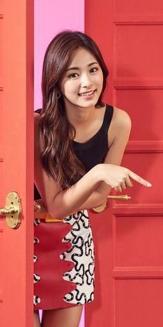 Tzuyu 💗💗 from the group Twice 😘 Kpop Girl Groups, Korean Girl Groups, Kpop Girls, Korean Beauty, Asian Beauty, Exo And Red Velvet, Twice Tzuyu, Chou Tzu Yu, Beautiful Asian Women