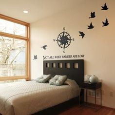 Best Bedroom Wall Decal Design Ideas 45 image is part of 80 Awesome Bedroom Wall Decals Wallpaper Design Ideas to Try gallery, you can read and see another amazing image 80 Awesome Bedroom Wall Decals Wallpaper Design Ideas to Try on website Wall Decals For Bedroom, Bedroom Decor, Wall Decor, Bedroom Ideas, Palette, Awesome Bedrooms, Dream Bedroom, Master Bedroom, My New Room