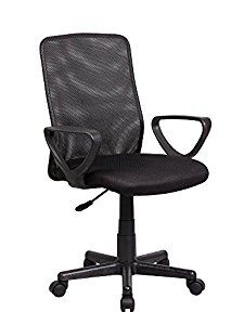 The Eurosports Industries Modern Ergonomic Mesh Task Office Chair in Black brings classic office style to your home or workday with a traditional,. Computer Desks For Home, Home Desk, Home Office Desks, Home Office Furniture, Cool Office Desk, Black Office Chair, Mesh Office Chair, Office Chairs, Adjustable Office Chair