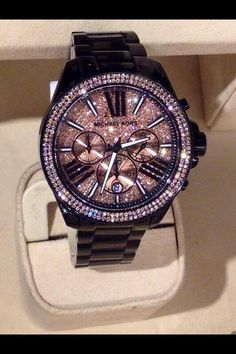 Michael Kors Watches #Michael #Kors #Watch I absolutely need to have this!!! Hope my puppy doesn't get ahold of this one