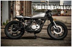 Yamaha SR400 - Gasoline Custom Motorcycles - Pipeburn - Purveyors of Classic Motorcycles, Cafe Racers & Custom motorbikes