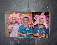 Not Perfect Hat Club Day photo booth!