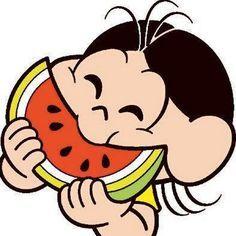Como ela, eu também sou apaixonada por melancia. Dani Cabo