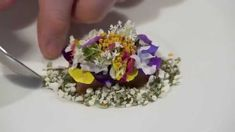 See the VIDEO of Chef Rasmus Kofoed preparing a lovely dessert from Restaurant #Geranium in #Copenhagen