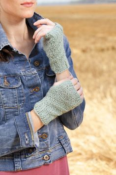 Cute fingerless mitts for the Knook