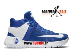 quality design 27075 69306 Nike KD Trey 5 IV Team - Chaussures de BasketBall Pas Cher Homme Bleu Blanc  844590-411-1712240590