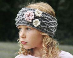 CROCHET PATTERN, Crochet Headband Pattern, The Carys Cabled Headband Pattern, Crochet Pattern, Crochet Earwarmer Pattern, Pattern, Crochet