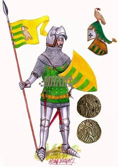 Radu I voivode of Wallachia XIVth century reconstruction Middle Ages, Middle East, Drawing Conclusions, Armadura Medieval, Medieval Clothing, Unusual Gifts, 17th Century, Renaissance, Knight