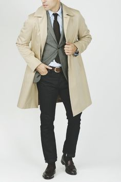 layers, clean cut, dressed-up casual