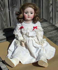 Simon Halbig German bisque doll.