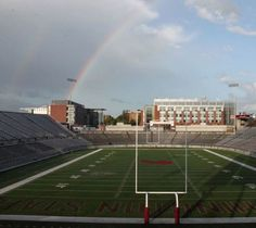 Happy Saint Patrick's Day Cougars! May you find the pot of gold at the end of the rainbow. Go Cougs!
