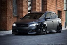 Audi A4 Avant. I'm not really a fan of wagons, but this one is pretty sweet.