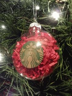 DIY: Starbucks Ornament
