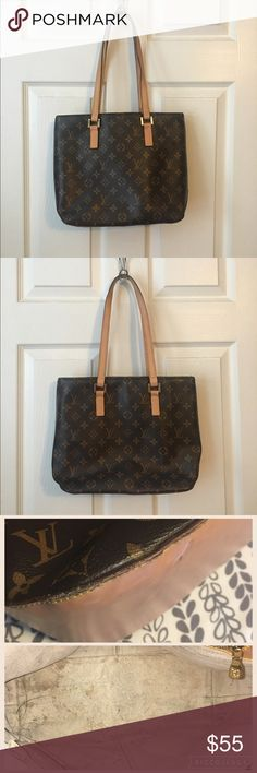 Fashion tote - Make an Offer! Found at garage sale, straps were in horrible shape. Replaced by a friend who does leather work. N🚫t auth from what what I've been told (not familiar with the brand). Interior is dirty, but still functional. I used for awhile, but I prefer larger bags. Bags Totes
