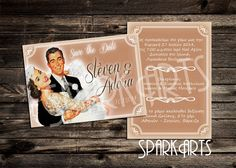 Hey, I found this really awesome Etsy listing at https://www.etsy.com/listing/189139160/rustic-pink-wedding-save-the-date