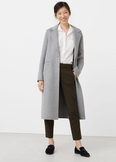 Cotton suit trousers   MANGO