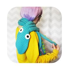INSTANT DOWNLOAD - epic octopus scarf with tentacles - PDF crochet pattern on Etsy, $4.00