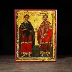 Orthodox icons and incense. Handmade museum quality icons and more. And July, July 1, Icon 5, Gifts For My Wife, Twin Brothers, Medieval Art, Orthodox Icons, Catholic, Saints