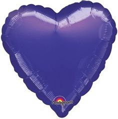 Anagram International Heart FoilFlatBalloon 18 Metallic Purple -- See this great product. (This is an affiliate link)