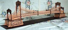 The Victorian Bridge, scroll saw fretwork pattern