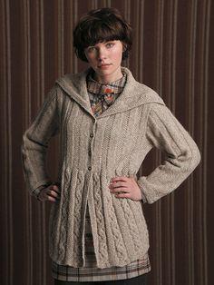 Now in the Ravelry Rowan online pattern store: Deirdre pattern by Marie Wallin