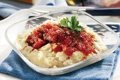 Κοκκινιστό μοσχάρι με πουρέ μελιτζάνας-featured_image