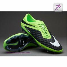 detailed look a2654 6e4f8 Nike Hypervenom Phantom FG - Firm Ground - Soccer Cleats - LimeWhiteBlack