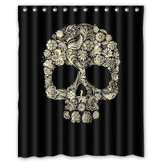 Sugar Skull Bathroom Decor Fresh Custom Sugar Skull Mexican Shower Curtain Inch Bathroom Decor Fabric by Qearl Cool