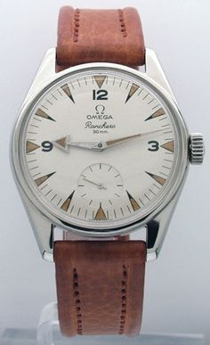 ooou you don't see an omega ranchero everyday. if I wear mens watches does that make me a cross dresser? Luxury Watches, Rolex Watches, Cool Watches, Watches For Men, Retro Mode, Estilo Fashion, Vintage Omega, Beautiful Watches, Breitling
